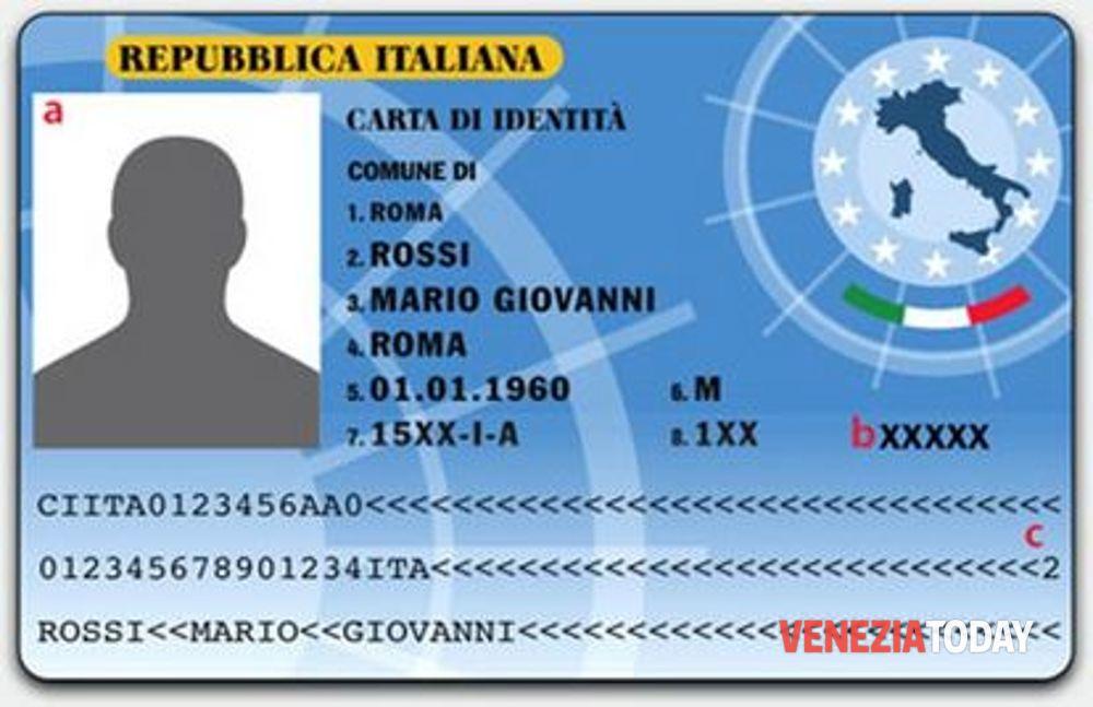 Nova carteira de identidade italiana – CIE