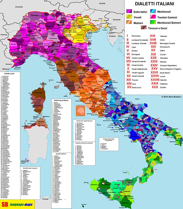 dialetos italianos